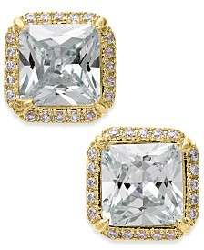 Kate Spade New York  Crystal Square Stud Earrings