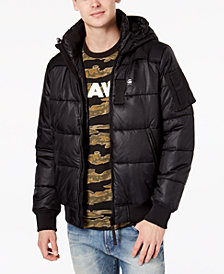 G-Star RAW Men's Hooded Puffer Whistler Jacket