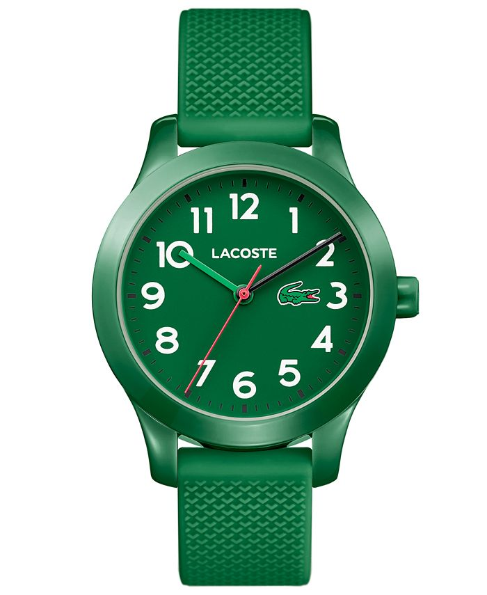 Lacoste - Kids 12.12 Green Silicone Strap Watch 32mm