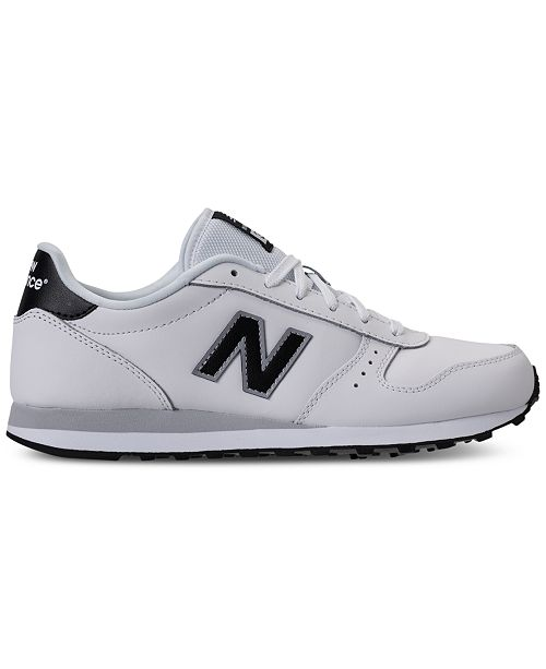 0206037eb6f4 New Balance Men s 311 Leather Casual Sneakers from Finish Line ...