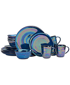 Mikasa Coronado Cobalt 16-Piece Dinnerware Set, Service for 4