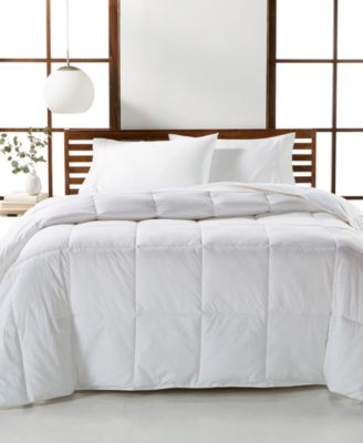 Luxury Supima Cotton Down Alternative Twin Comforter, Created for Macy's