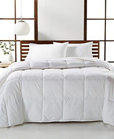 CLOSEOUT! Luxury Supima Cotton Down Alternative Full/Queen Comforter, Created for Macy's