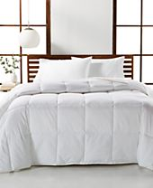 CLOSEOUT! Hotel Collection Luxury Supima Cotton Down Alternative Full/Queen Comforter, Created for Macy's