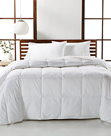 Hotel Collection Luxury Supima Cotton Down Alternative Full/Queen Comforter, Created for Macy's