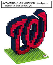 Forever Collectibles Washington Nationals BRXLZ 3D Logo Puzzle