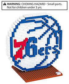 Forever Collectibles Philadelphia 76ers BRXLZ 3D Logo Puzzle