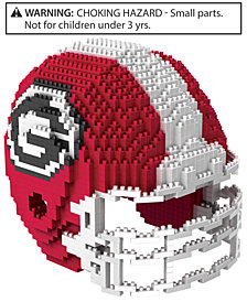 Forever Collectibles Georgia Bulldogs BRXLZ 3D Helmet Puzzle