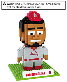 Forever Collectibles Yadier Molina St. Louis Cardinals BRXLZ 3D Player Puzzle