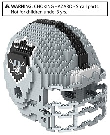 Forever Collectibles Oakland Raiders BRXLZ 3D Helmet Puzzle