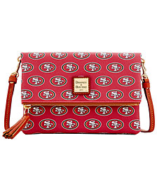 Dooney & Bourke San Francisco 49ers Foldover Crossbody Purse