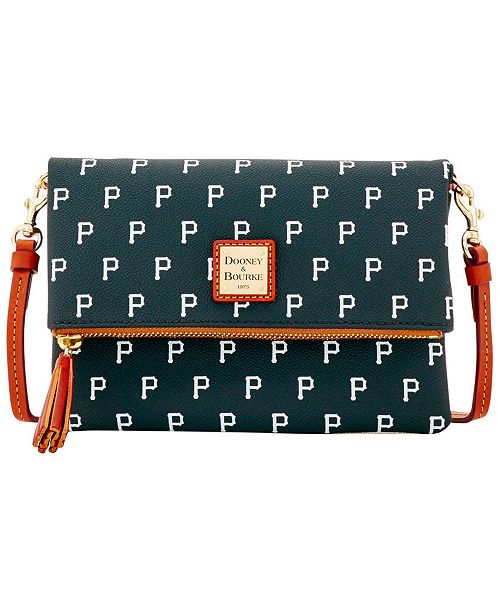 Dooney & Bourke Pittsburgh Pirates Foldover Crossbody Purse