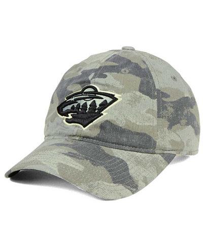adidas Minnesota Wild Camo Slouch Cap