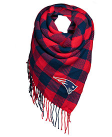 Forever Collectibles New England Patriots Blanket Scarf