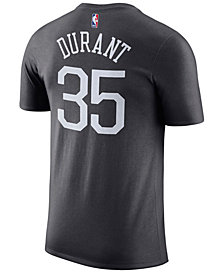 Nike Men's Kevin Durant Golden State Warriors Name & Number Player T-Shirt