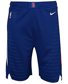 Los Angeles Clippers Icon Swingman Shorts, Big Boys (8-20)