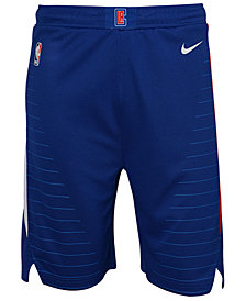 Nike Los Angeles Clippers Icon Swingman Shorts, Big Boys (8-20)