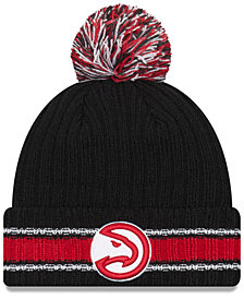 New Era Atlanta Hawks Basic Chunky Pom Knit Hat