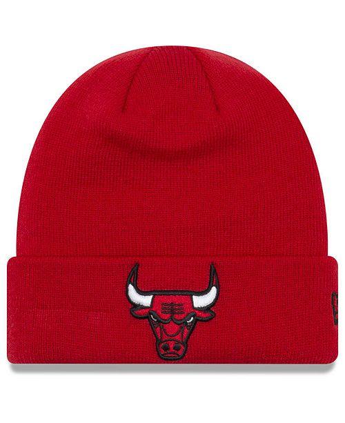 bc5b0fb2662 New Era Chicago Bulls Breakaway Knit Hat   Reviews - Sports Fan Shop ...