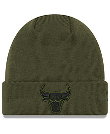 New Era Chicago Bulls Fall Time Cuff Knit Hat