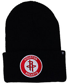 '47 Brand Houston Rockets Ice Block Cuff Knit Hat