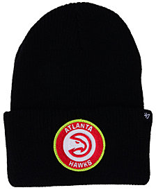 '47 Brand Atlanta Hawks Ice Block Cuff Knit Hat
