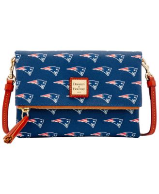 New England Patriots Foldover Crossbody Purse