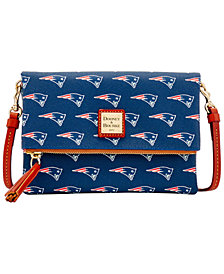 Dooney & Bourke New England Patriots Foldover Crossbody Purse