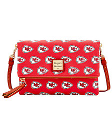 Dooney & Bourke Kansas City Chiefs Foldover Crossbody Purse