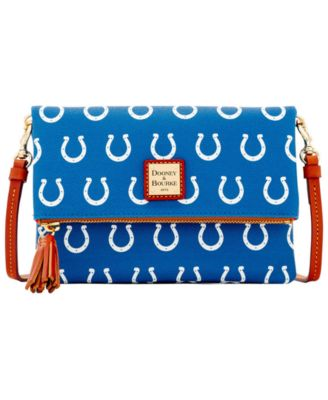 Indianapolis Colts Foldover Crossbody Purse