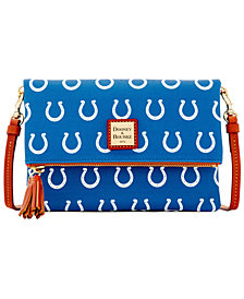Dooney & Bourke Indianapolis Colts Foldover Crossbody Purse