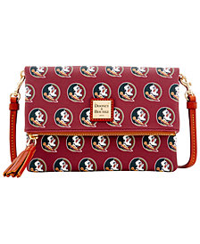 Dooney & Bourke Florida State Seminoles Foldover Crossbody Purse