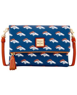 Denver Broncos Foldover Crossbody Purse