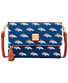 Dooney & Bourke Denver Broncos Foldover Crossbody Purse