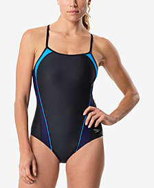 Speedo Free Racer One-Piece Swimsuit