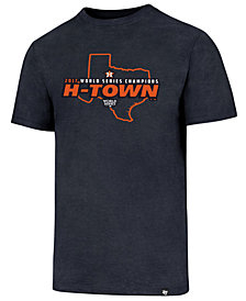 '47 Brand Men's Houston Astros 2017 World Series Champs TX Club T-Shirt