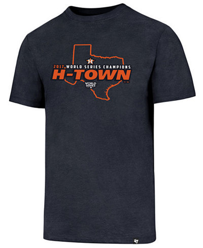 '47 Brand Men's Houston Astros 2017 World Series Champs TX Club T-Shirt