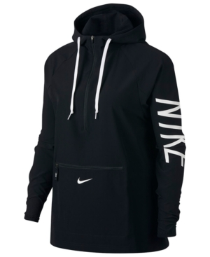 Nike  FLEX HALF-ZIP HOODED TRAINING JACKET