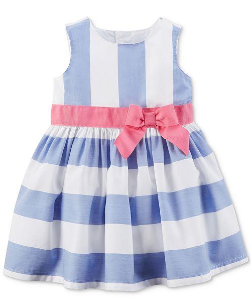 c4d1300c1 Carter s Blue Stripe Dress