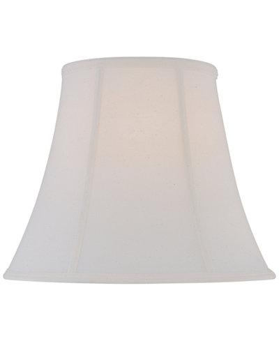 16 fine linen bell lamp shade