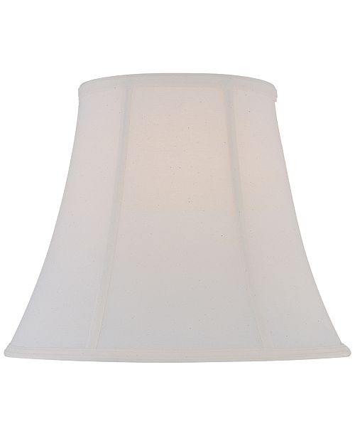 Lite source 16 fine linen bell lamp shade lighting lamps home main image aloadofball Image collections