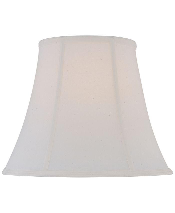"""Lite Source - 16"""" Fine Linen Bell Lamp Shade"""