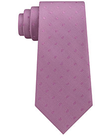 Calvin Klein Men's Dot Silk Tie