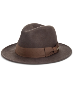 1930s Mens Hat Fashion Indiana Jones Safari Hat $75.00 AT vintagedancer.com