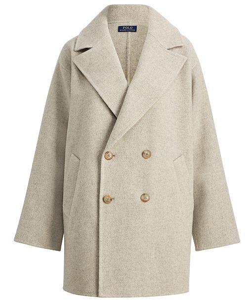 295b2c4f19d Polo Ralph Lauren Double-Breasted Coat   Reviews - Coats - Women ...