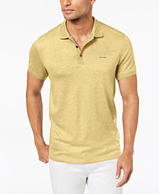 Calvin Klein Men's Liquid Touch Interlock Polo