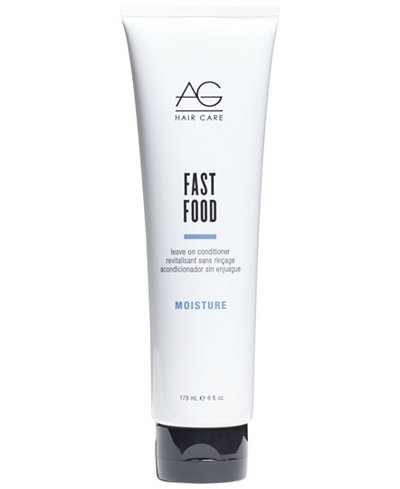 AG Hair Moisture Fast Food Leave-On Conditioner, 6-oz., from PUREBEAUTY Salon & Spa