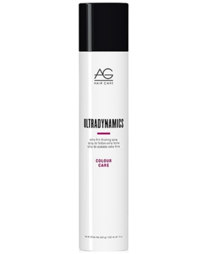 Image of Ag Hair Colour Care Ultradynamics Extra-Firm Finishing Spray, 10-oz, from Purebeauty Salon & Spa