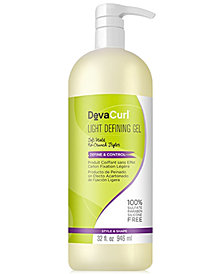 Deva Concepts DevaCurl Light Defining Gel, 32-oz., from PUREBEAUTY Salon & Spa