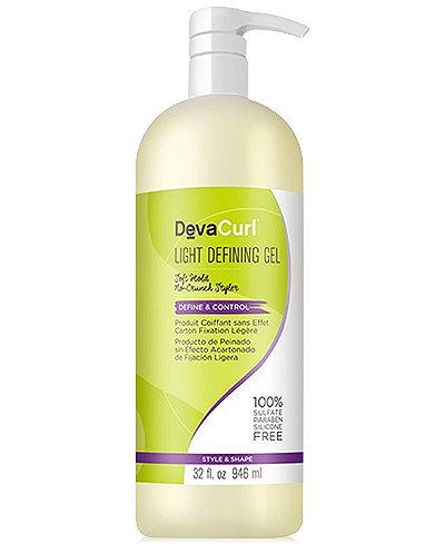 Deva Concepts DevaCurl Light Defining Gel, 32-oz., from PUREBEAUTY Salon & Spa